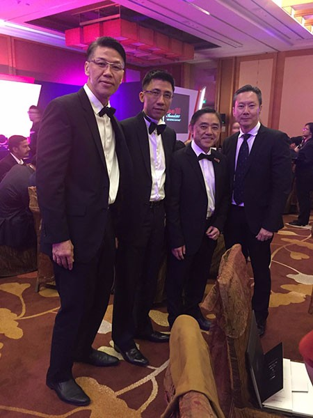 Management Team - Keith Chua, Alvin Lam, Wilson Ng, Jeffrey Lim